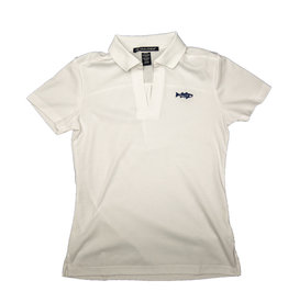 Women's Striper Short Sleeve Polo