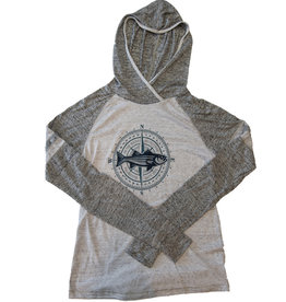 Women's Hooded Compass Tee