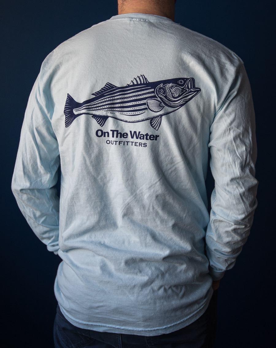 Pen & Ink Striper Long Sleeve  Tee