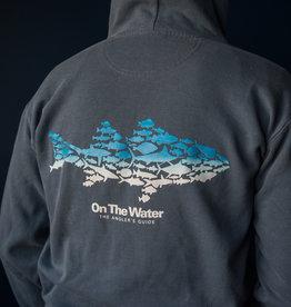 Ombre Multifish Full-Zip Hooded Sweatshirt