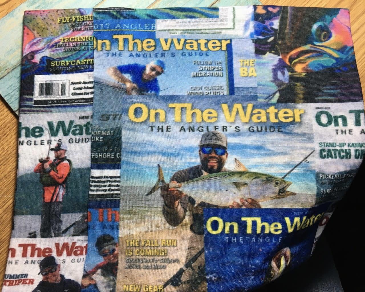 Neck Gaiter OTW Magazine Covers