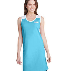 Racerback Striper Tank Dress