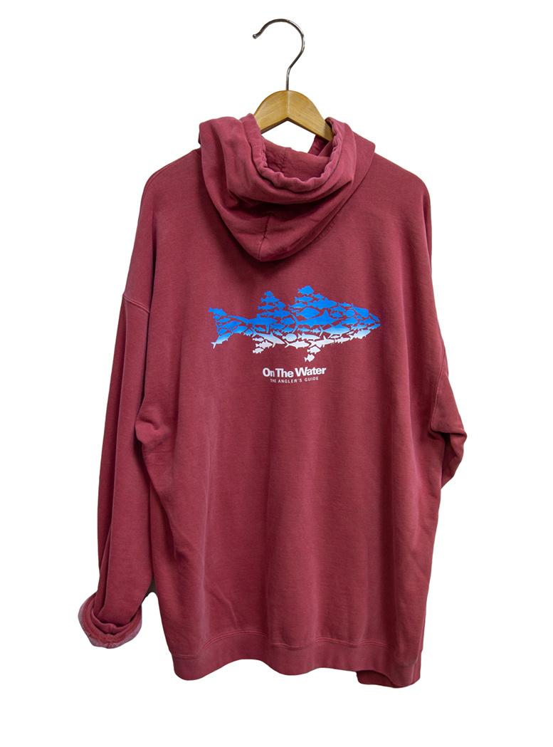 Ombre Multifish Hooded Sweatshirt