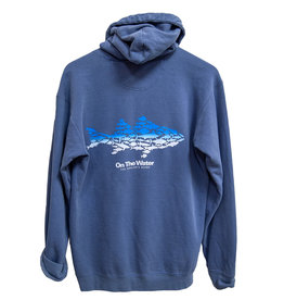 Ombre Multifish Full-Zip Hooded Sweatshirt
