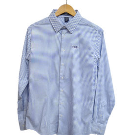 Larsson Windowpane Dress Shirt