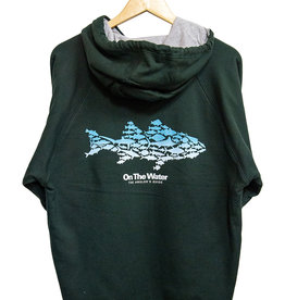 Ombre Multifish Thermal  Zip Sweatshirt