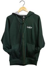 Ombre Multifish Thermal  Zip Sweatshirt