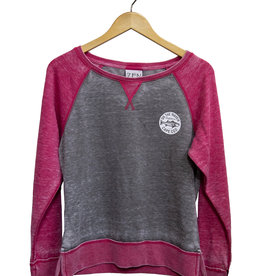 Zen Women's Burnout Crew