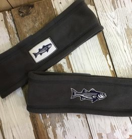Striped Bass Fleece Headband
