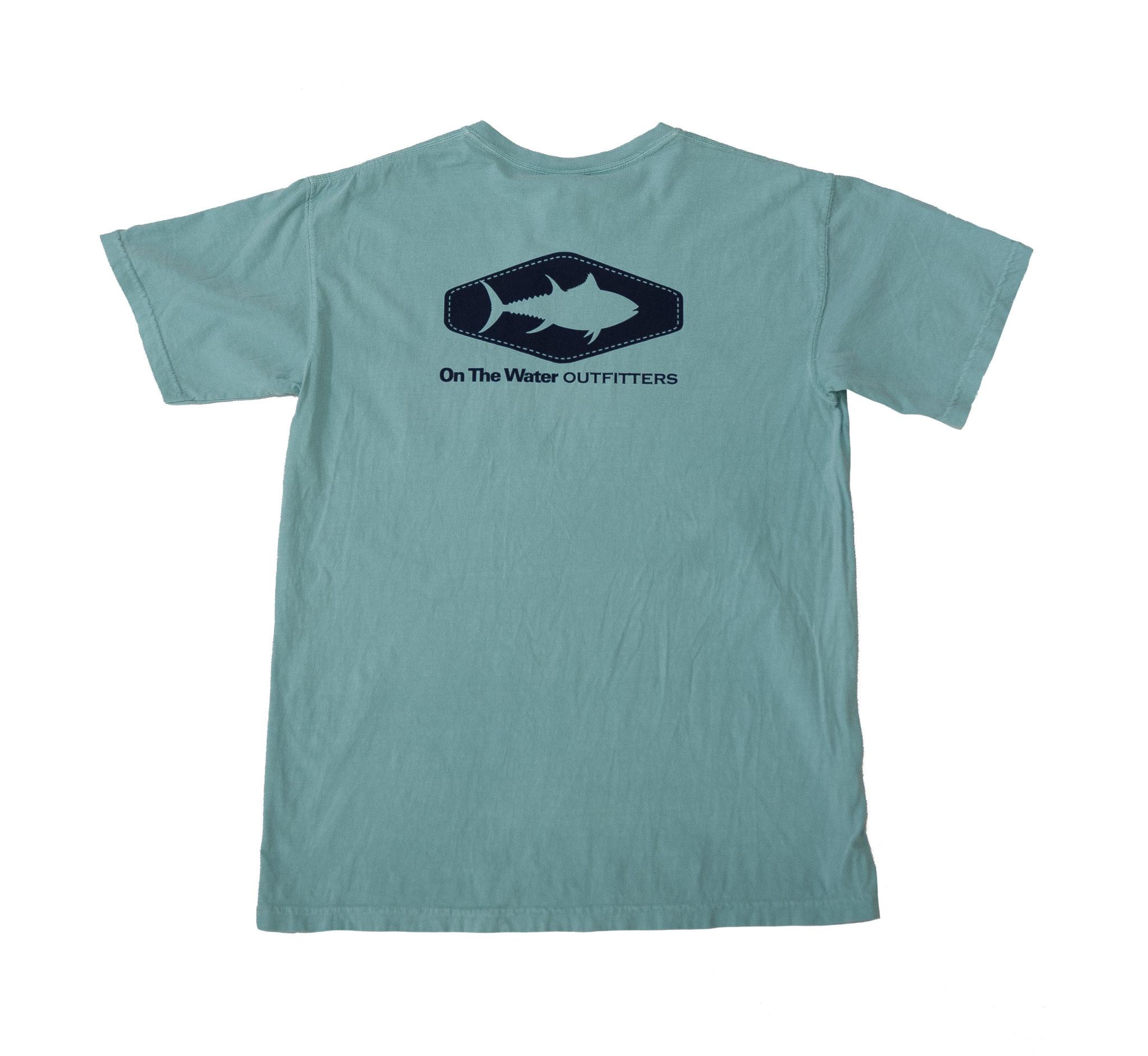Tuna  Diamond Silhouette Pocket T-Shirt