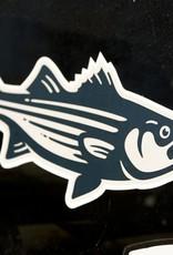 Classic Striper Sticker