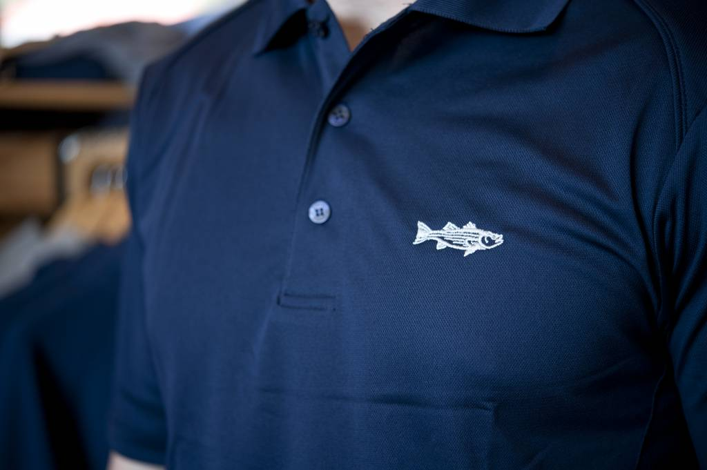 Embroidered Solid Polo