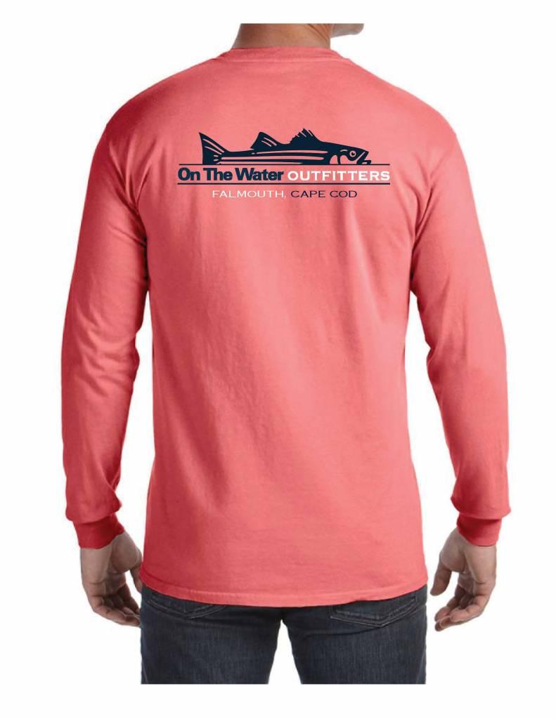 Split Striper Pocket T-Shirt