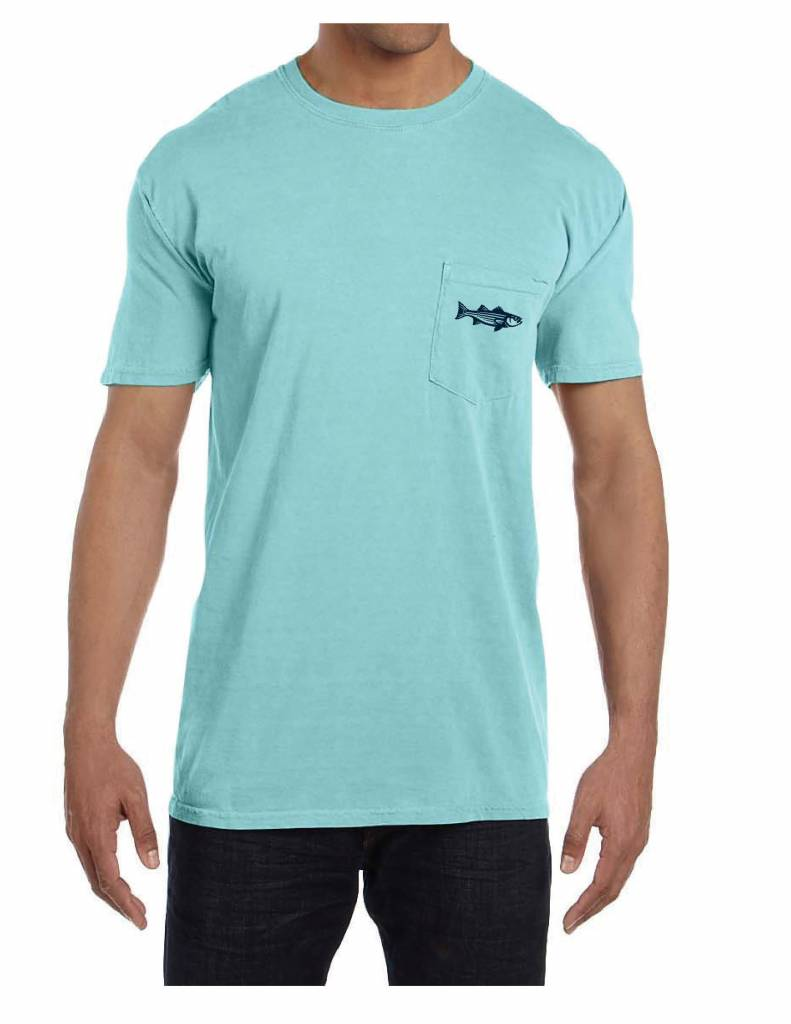 Split Striper Pocket T-Shirt