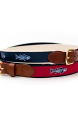 Striper Red Ribbon Belt