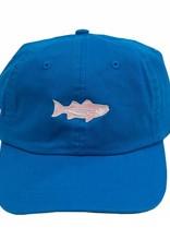 Washed Striper Hat  Lagoon