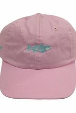 Washed Striper Hat Oxford Pink