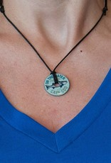 Striped Bass Washershore Necklace