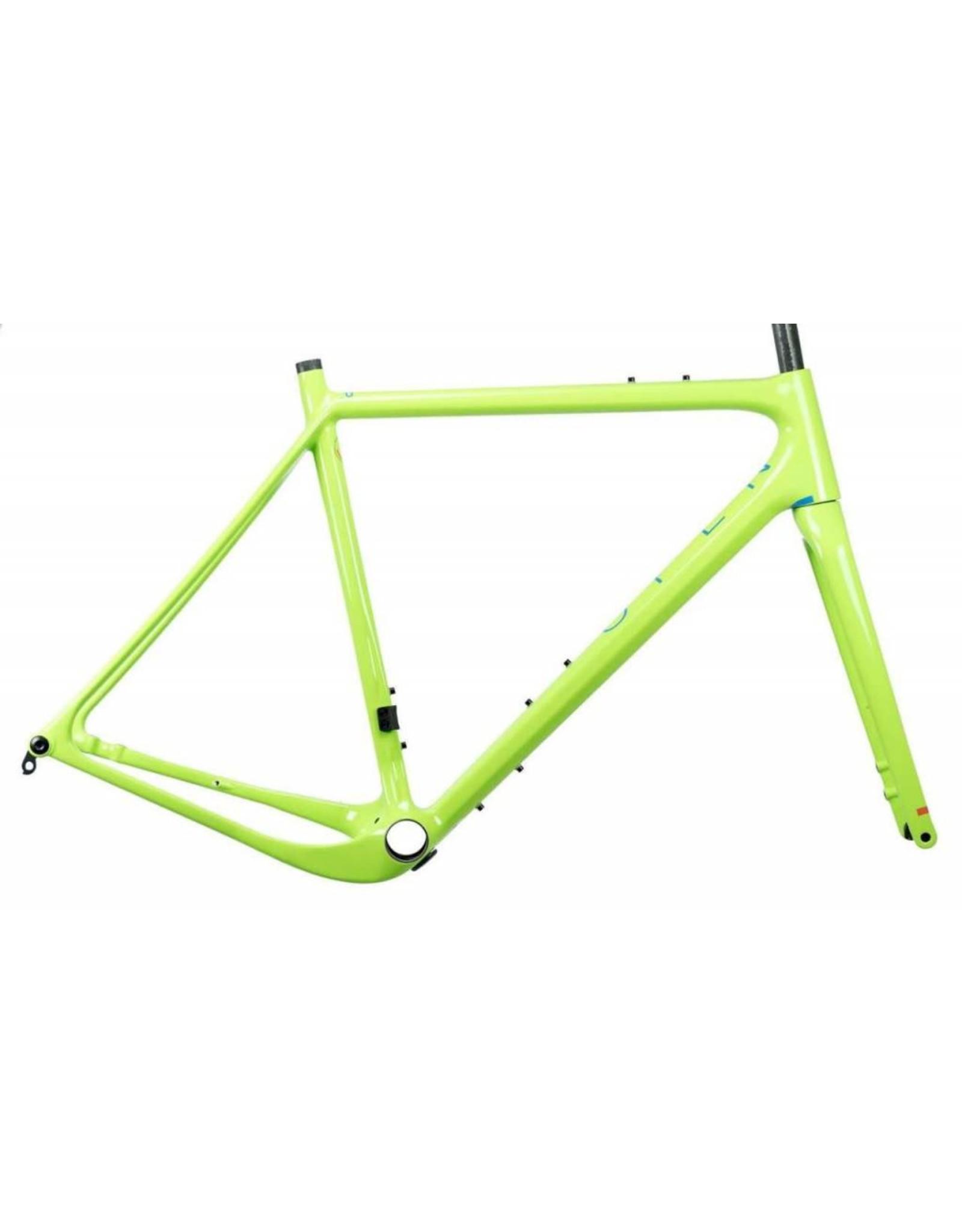 Open Cycles Open UP Frameset Green