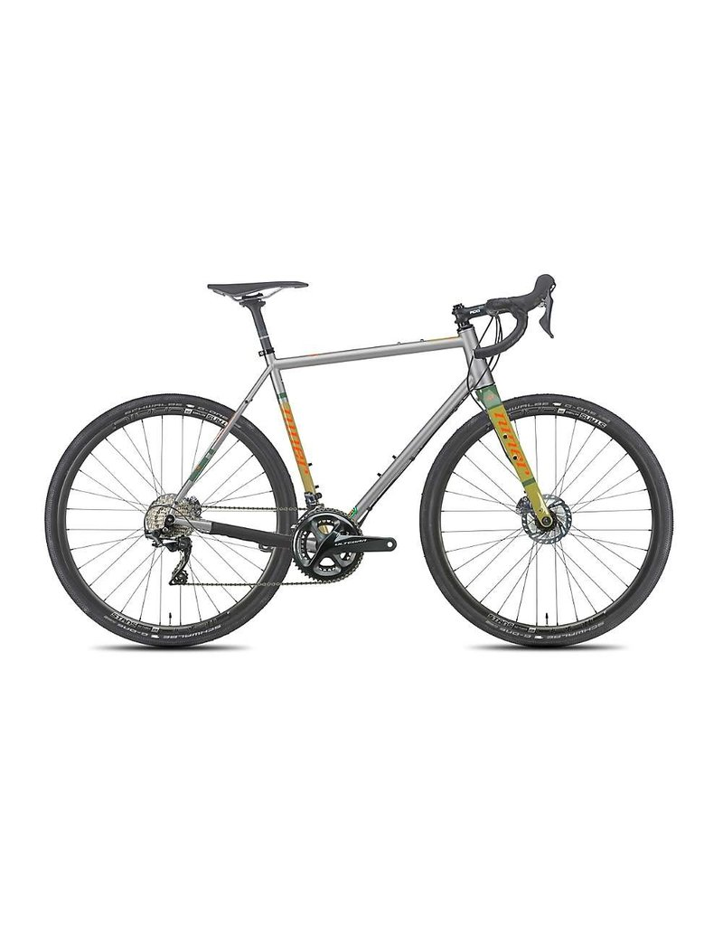 Niner RLT 9 Steel 5-Star Ultegra 53cm Grey/Orange/Sand