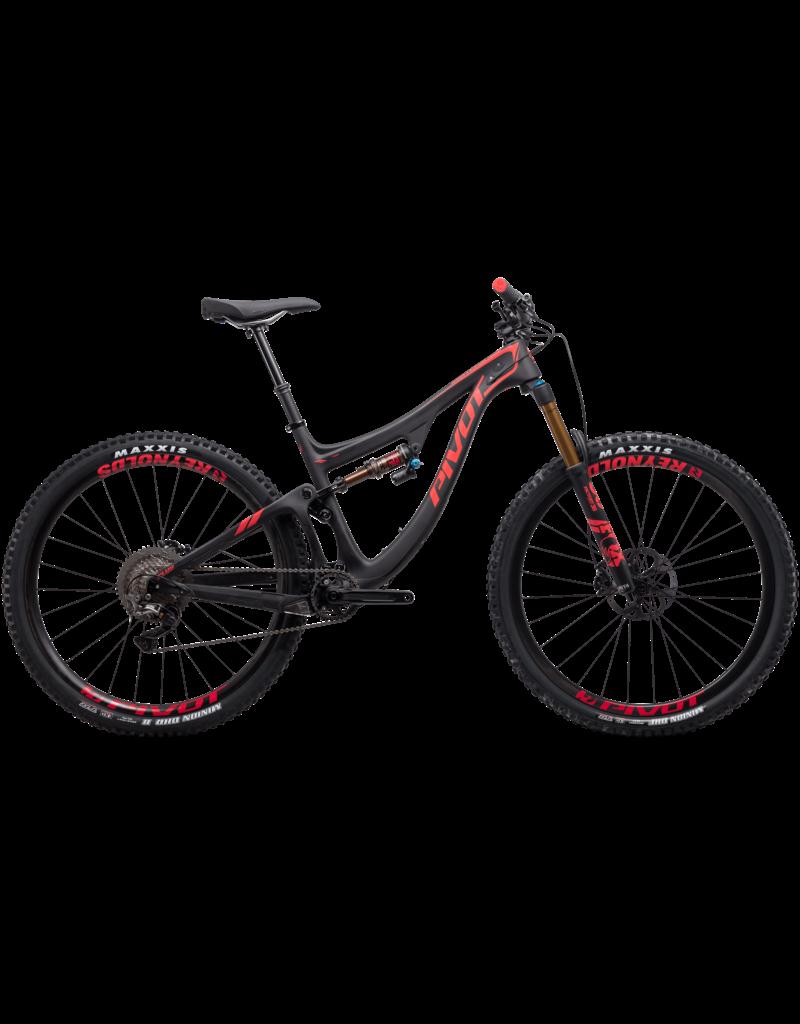 Pivot Cycles Pivot Switchblade XT/XTR Pro 1x Black/Red Medium