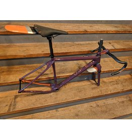 Open Cycles Open U.P. Frameset Purple Enve Edition Large