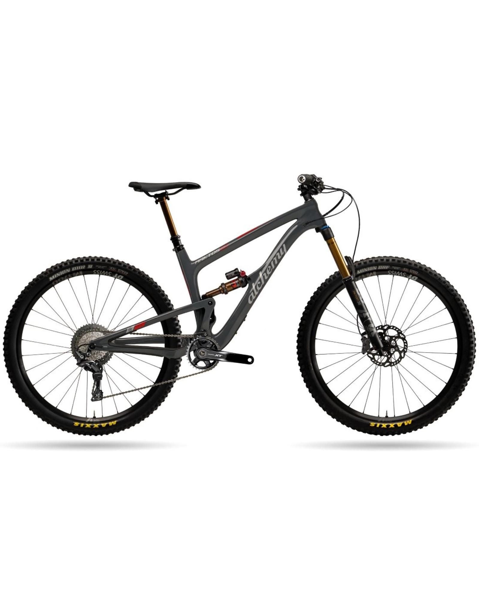 Alchemy Bicycle Works Alchemy Arktos 29 Grey/Red Large XT 11spd Bike