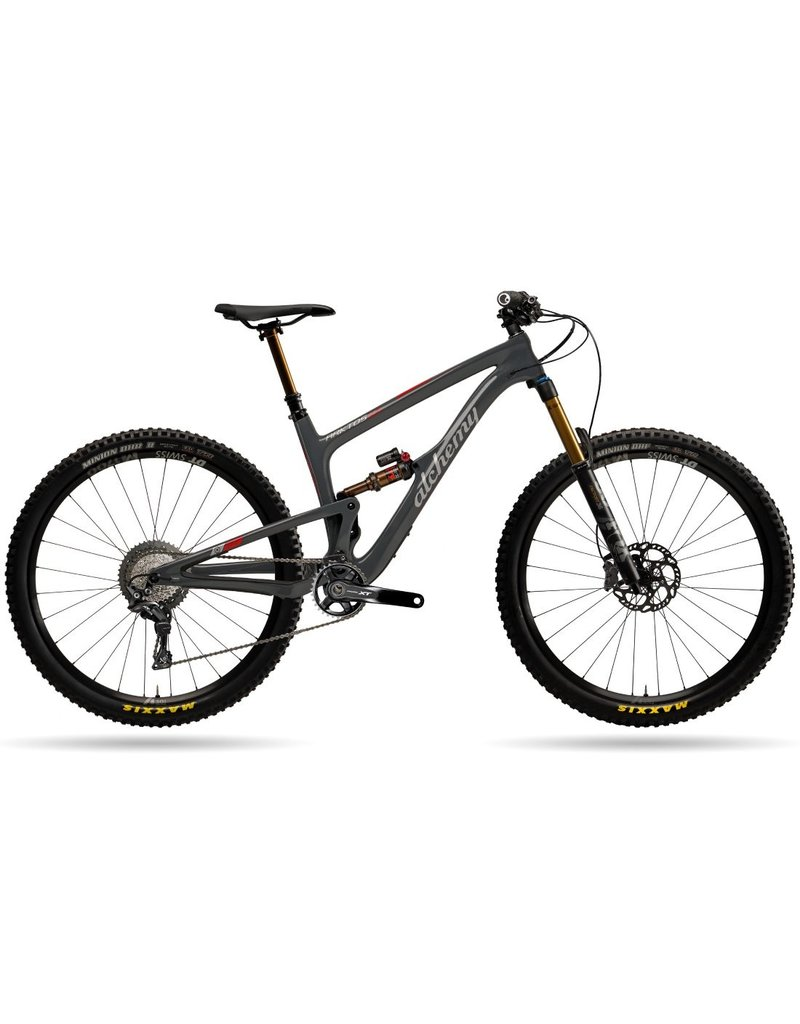 Alchemy Bicycle Works Alchemy Arktos 29 Grey/Red Large XT 11spd Bike