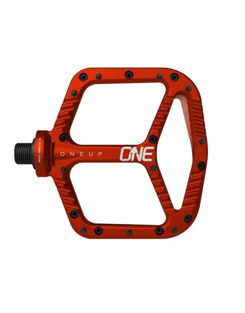 OneUp Components Aluminum Pedal Red