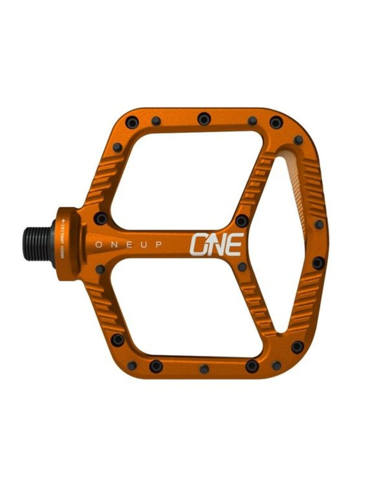 OneUp Components Aluminum Pedal Orange