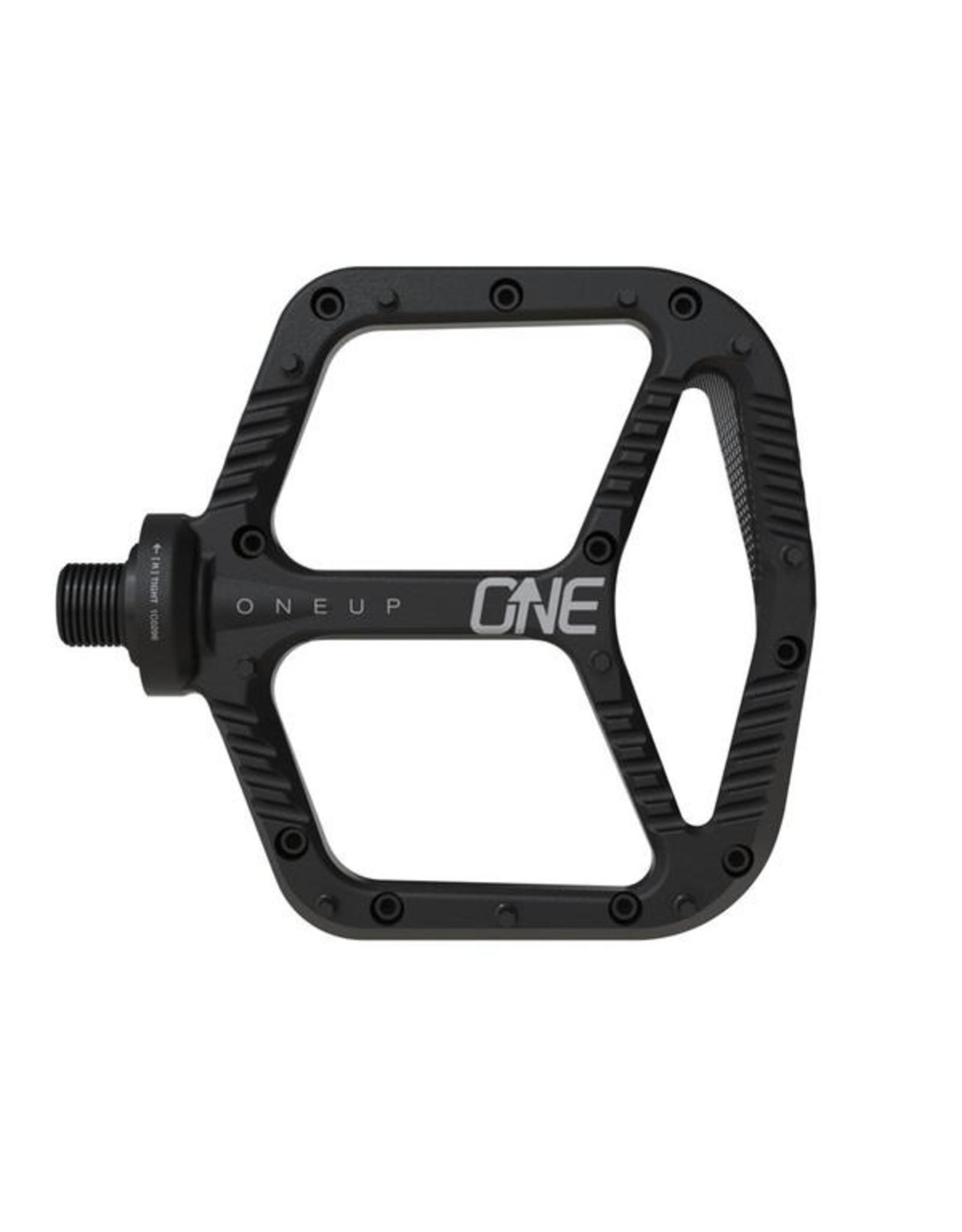 OneUp Components Aluminum Pedal Black