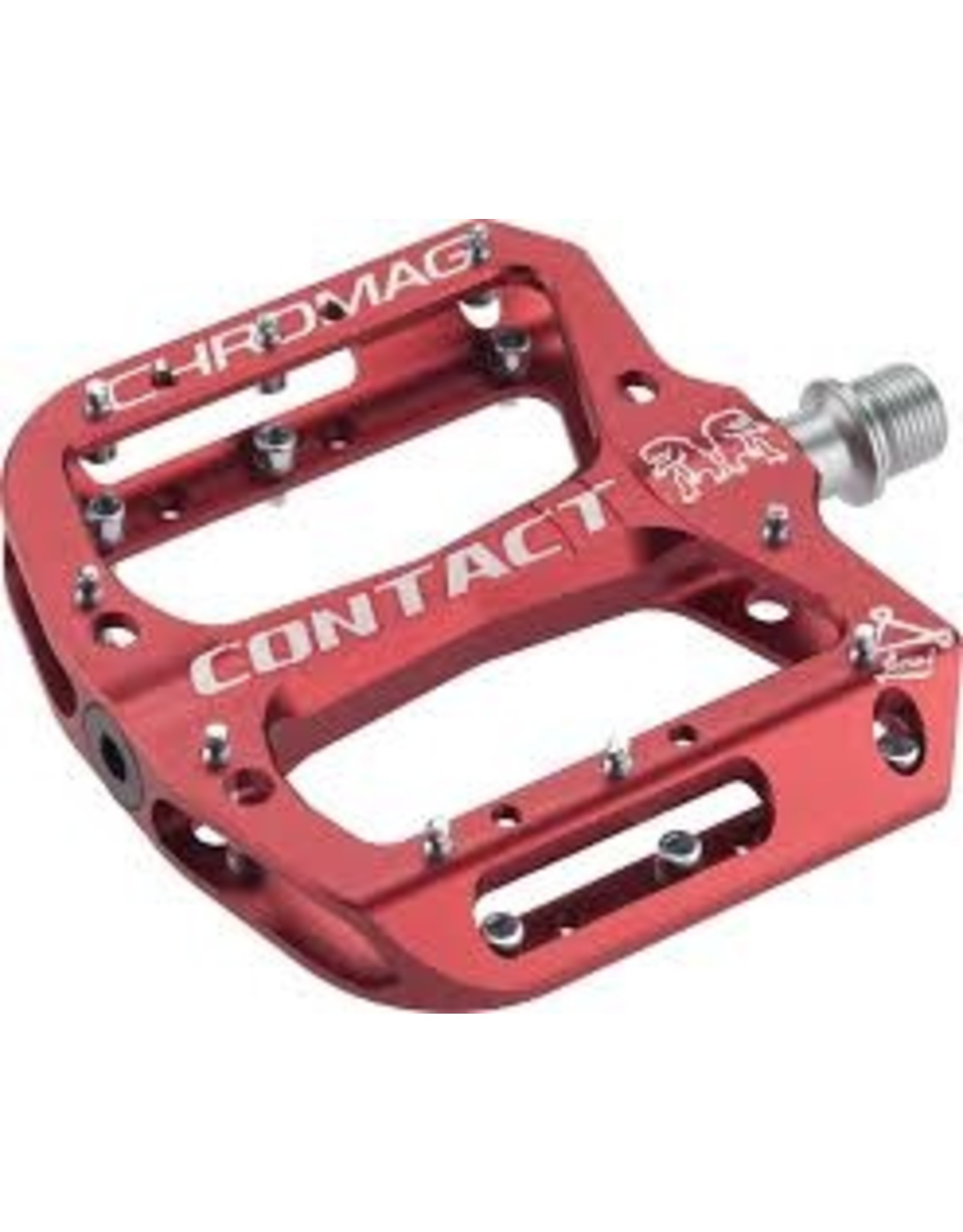 Chromag Contact Pedals Red