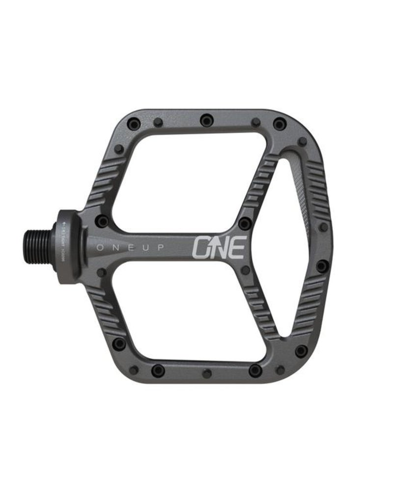 OneUp Components Aluminum Pedal Grey