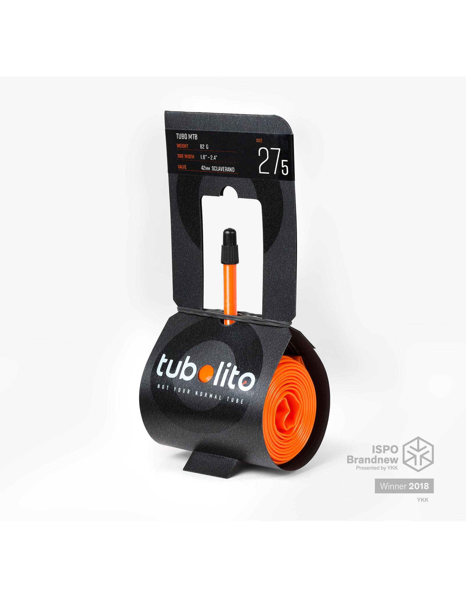 "Tubolito Tubolito Tubo MTB 27.5"" x 1.8 - 2.4 42mm Presta Valve"