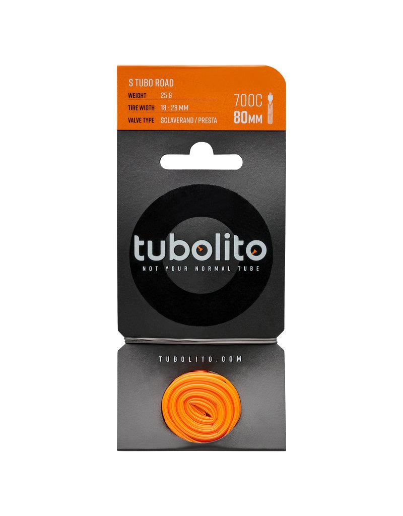 Tubolito Tubolito Tube 700c Road 80mm Stem Lightweight