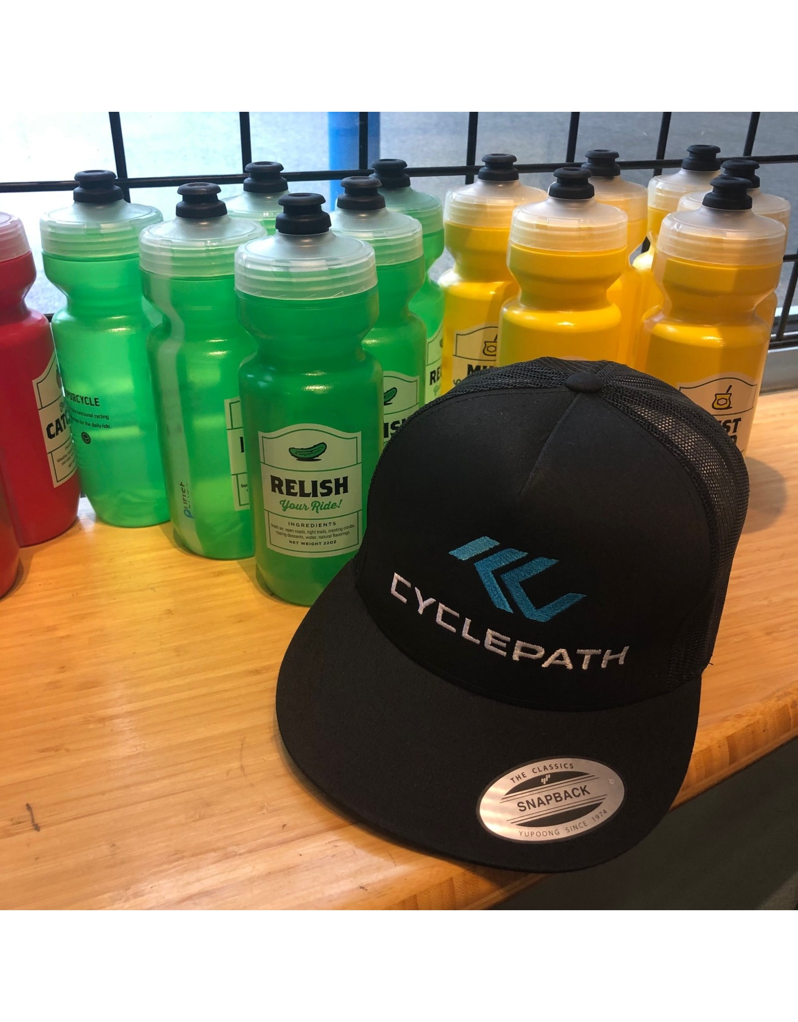 Cyclepath Trucker Hat