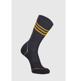 Mons Royale Mons Royale Men's Signature Crew Sock Iron/Gold
