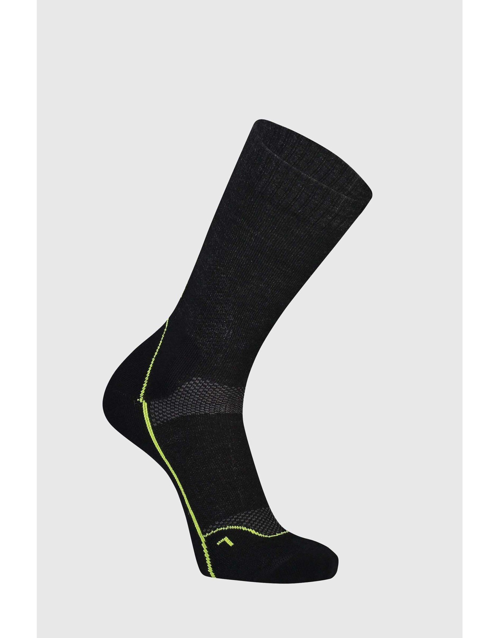 "Mons Royale Mons Royale Men's MTB 9"" Tech Sock Black"
