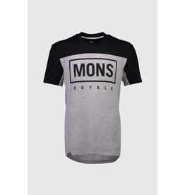 Mons Royale Mons Royale Mens Redwood Enduro VT Black/Grey