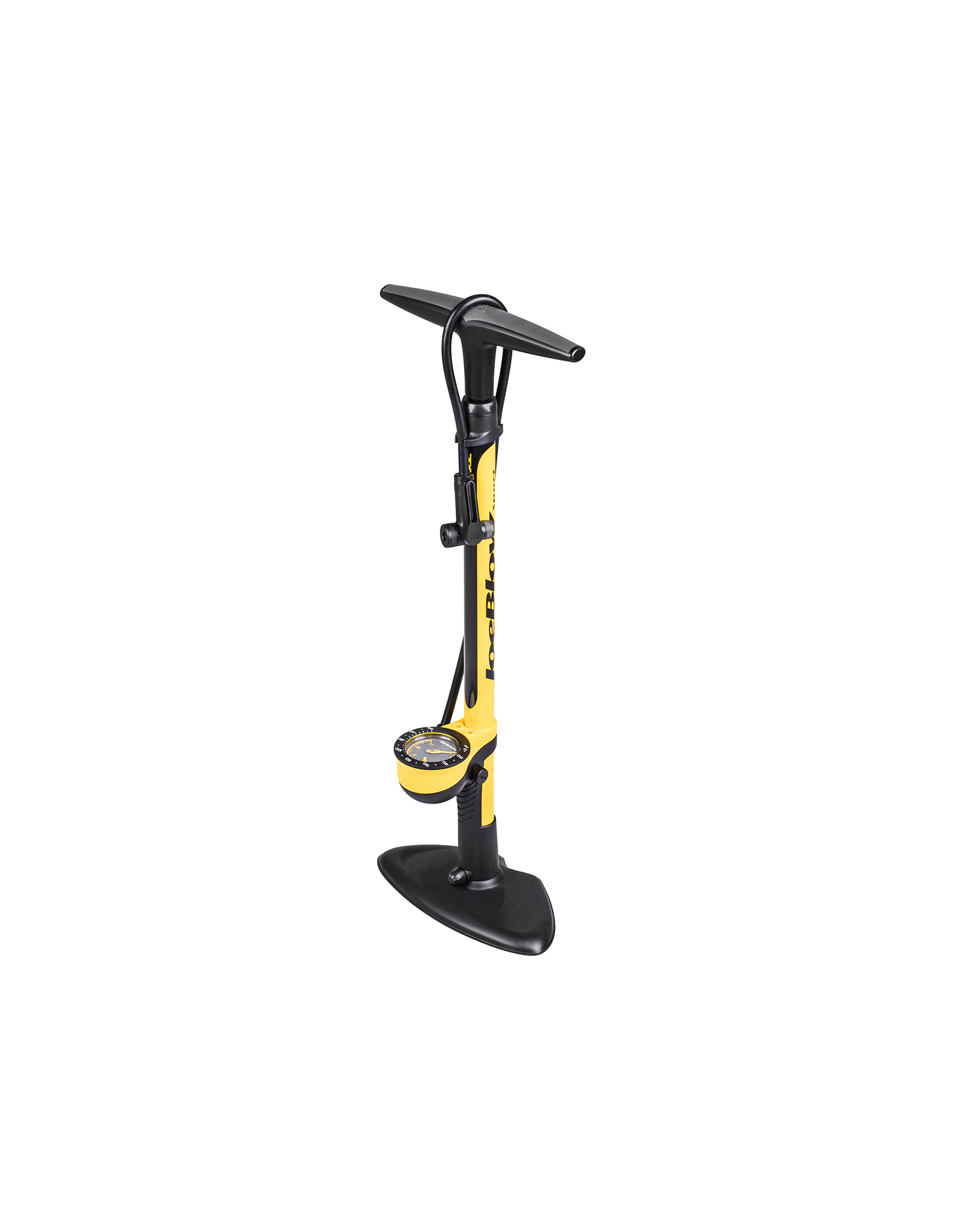 Topeak Joe Blow Sport III Floor Pump Yellow