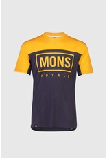 Mons Royale Mons Royale Mens Redwood Enduro VT  Gold/Iron