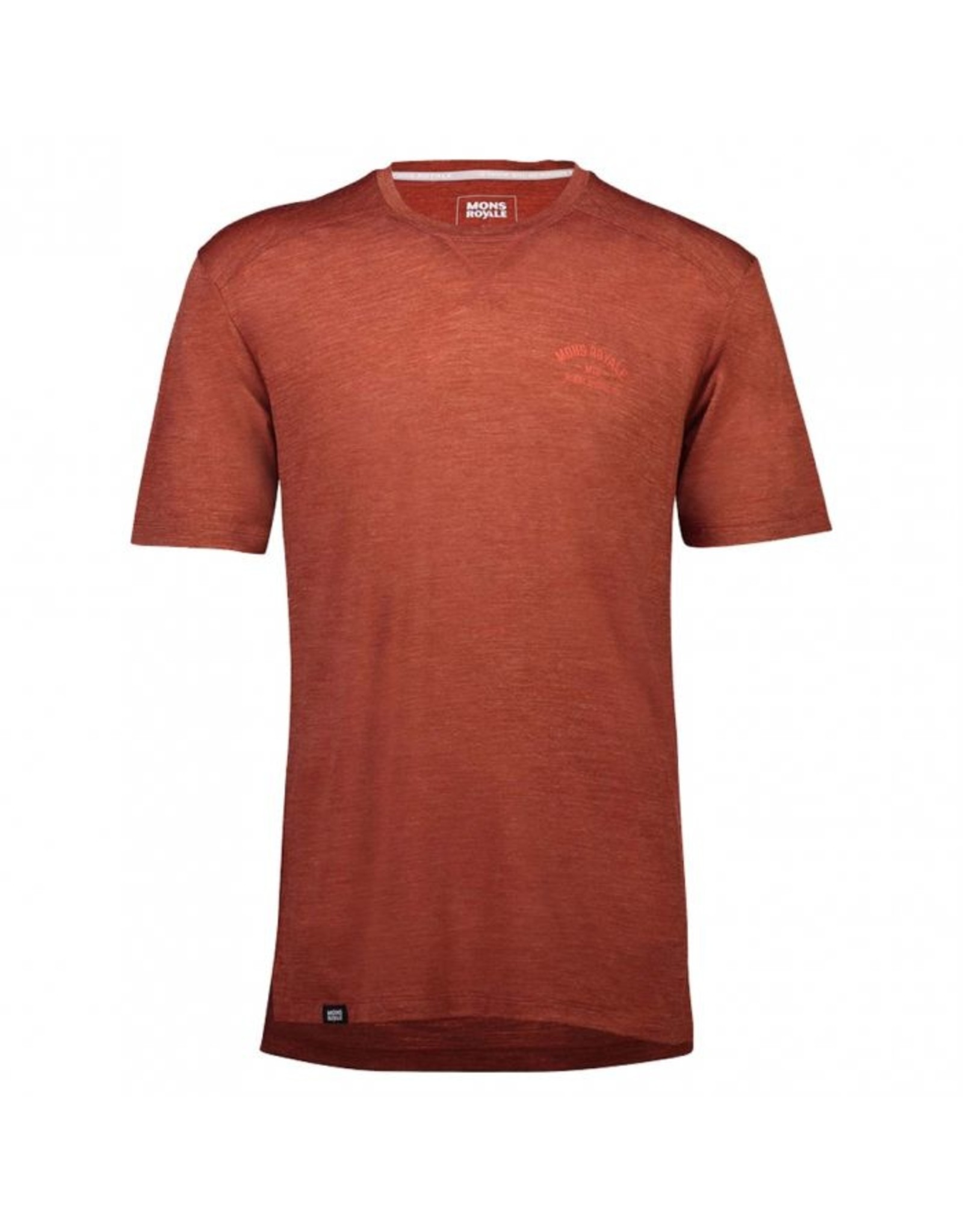 Mons Royale Mons Royale Mens Small Vapour Lite Tee Clay