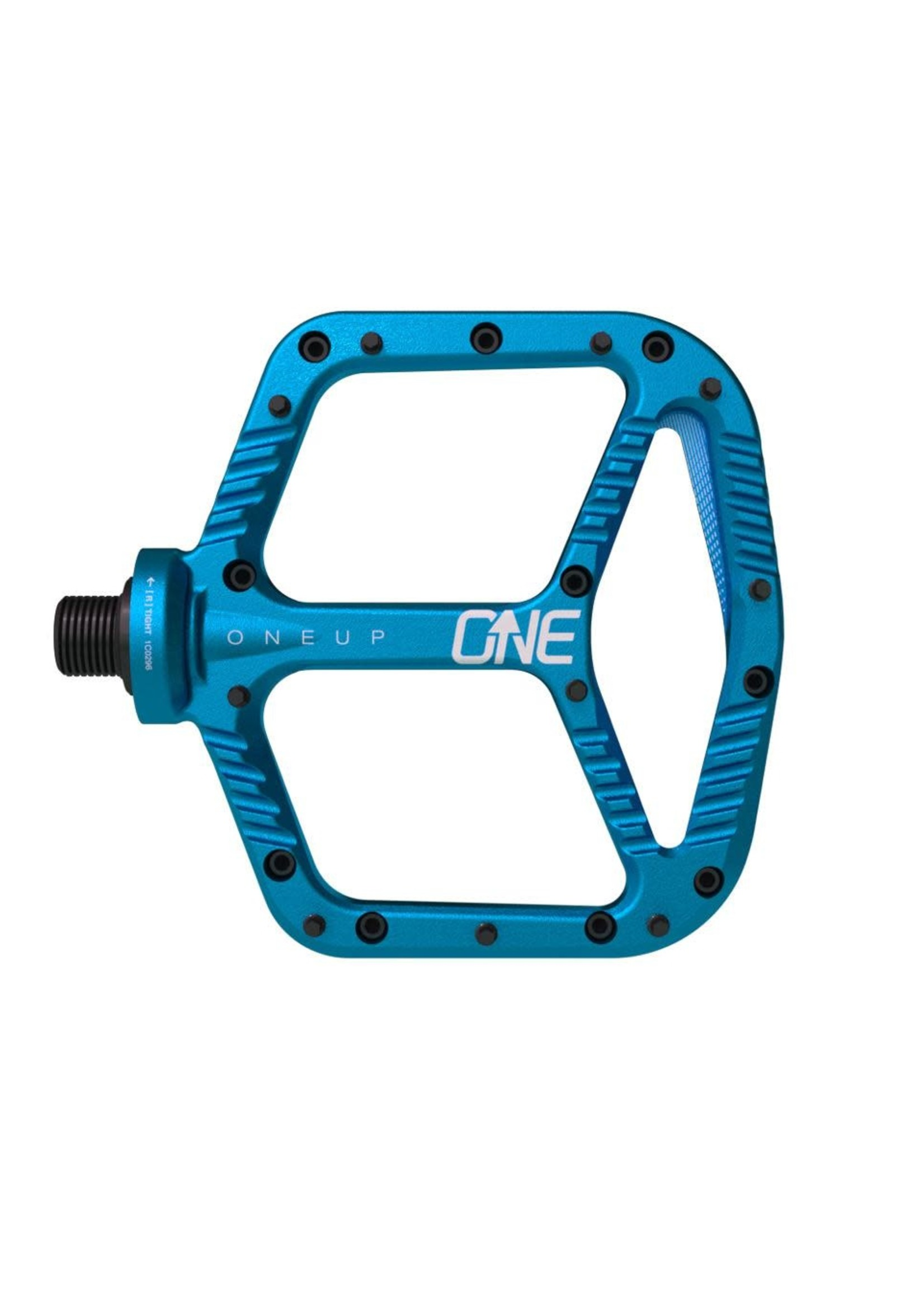 OneUp Components OneUp- Alloy Pedals, Blue