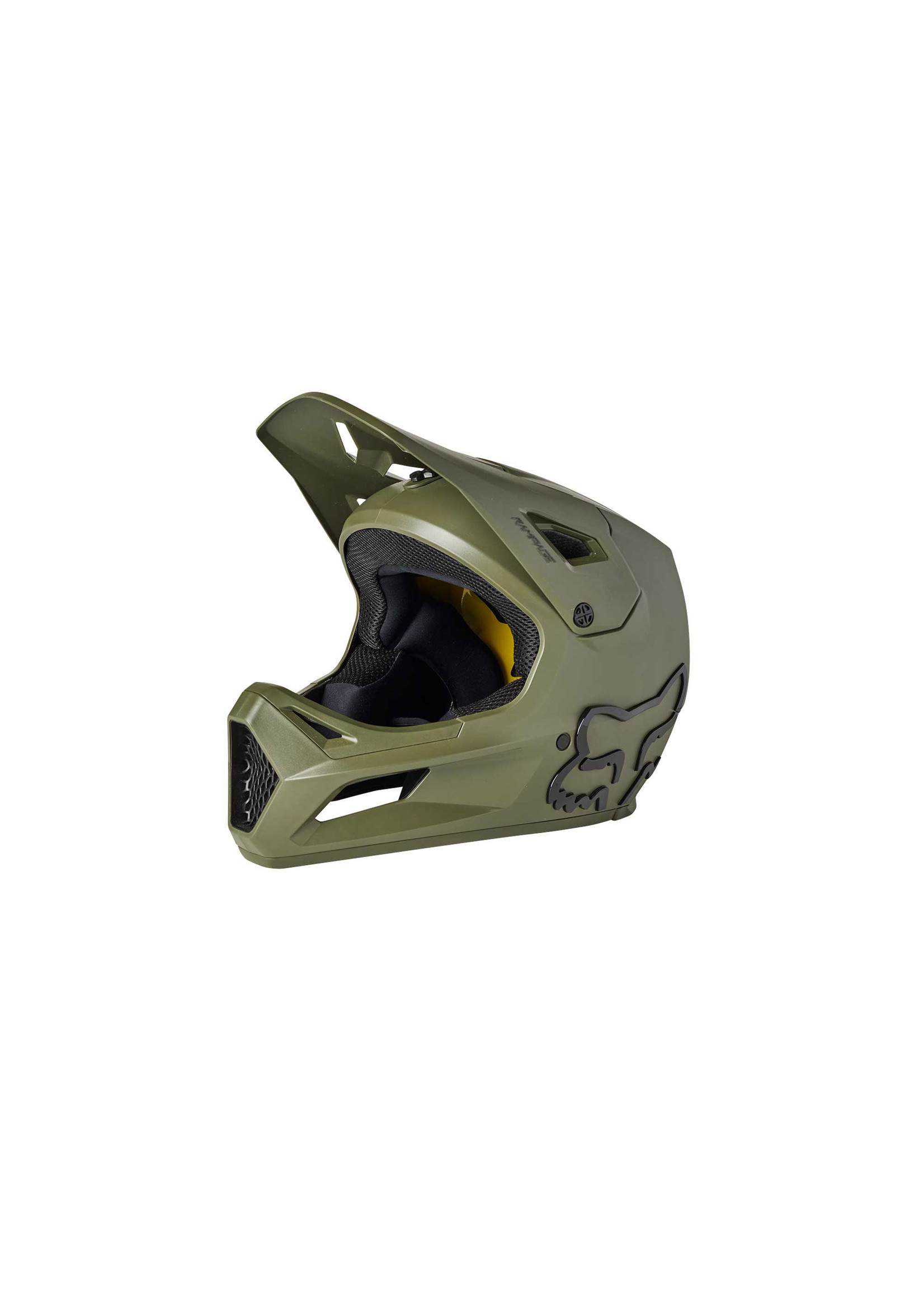 Fox Head Fox- Rampage Helmet, OLV GRN, Lrg