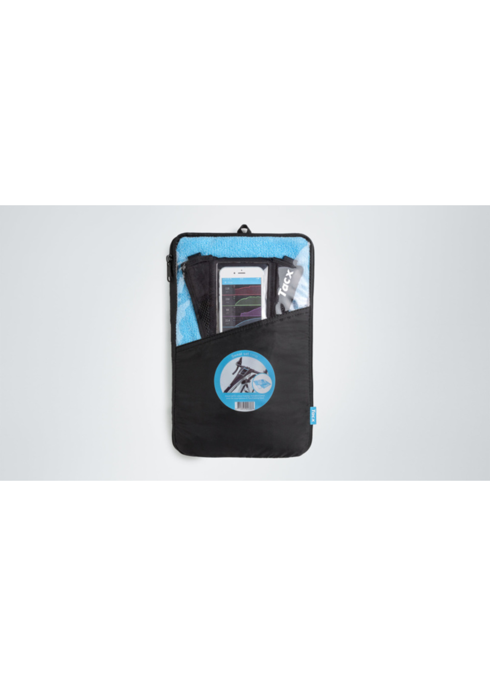 Tacx Tacx- Sweat Cover Set, Phone Cover and Towel
