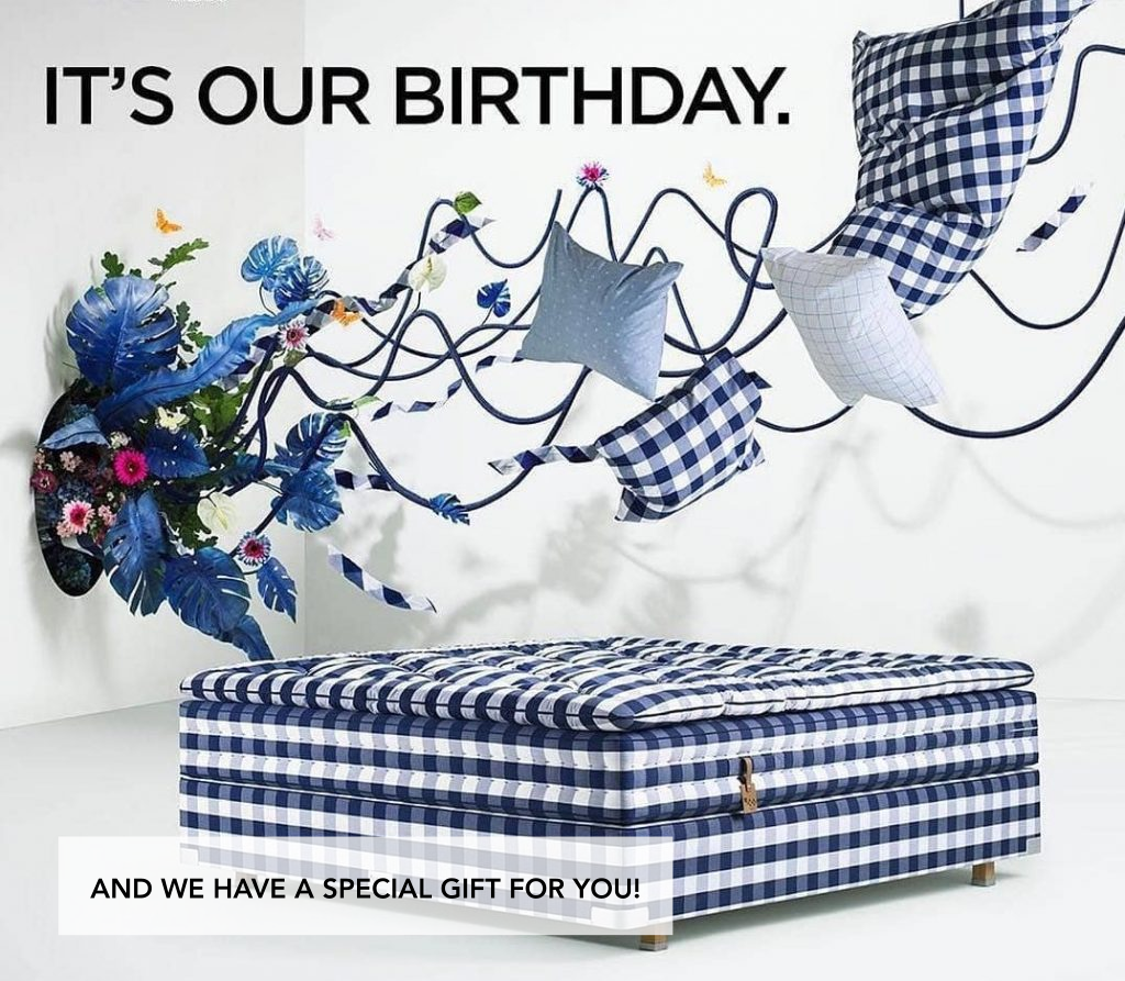 Hastens Celebrates 40 Years of Blue Check
