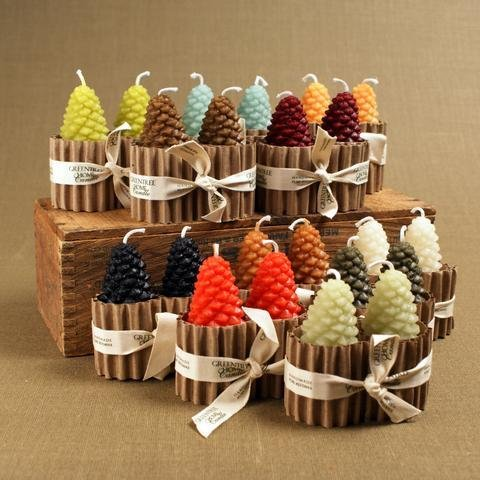 Greentree Home Greentree Cone Candle Pairs