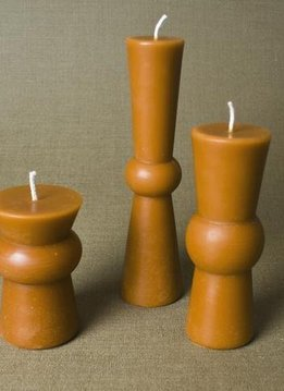 Greentree Home Alpha Squat Pillar Candle