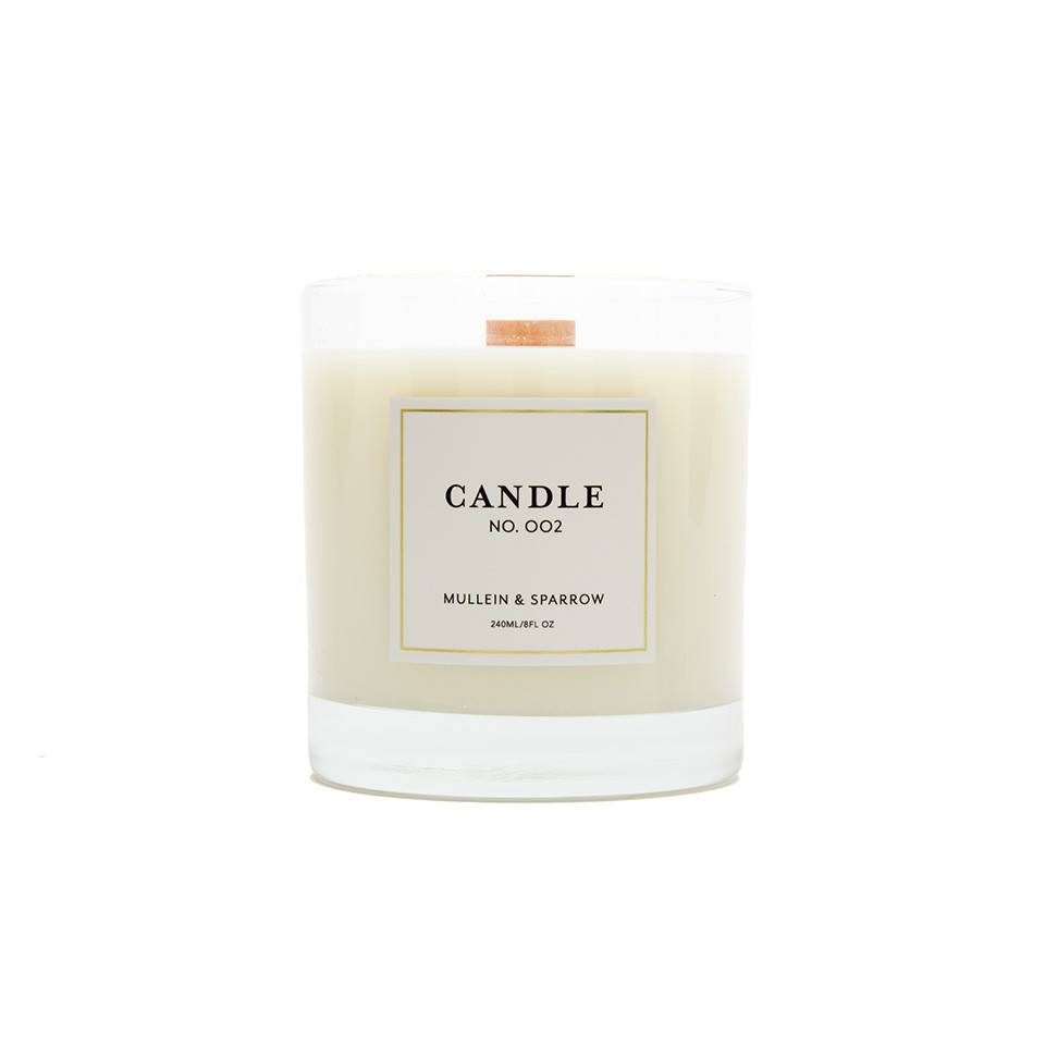 Mullein & Sparrow Mullein & Sparrow -  Candle 2, Flowers
