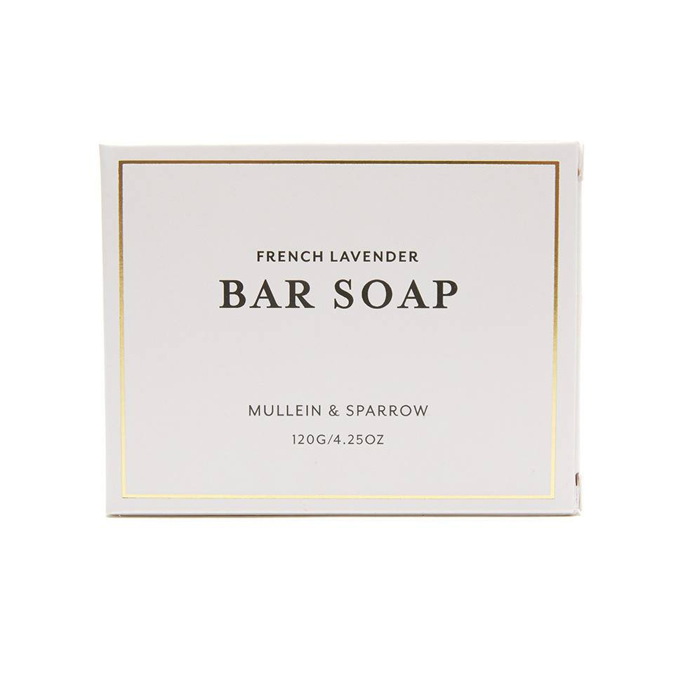 Mullein & Sparrow - French Lavender Bar Soap